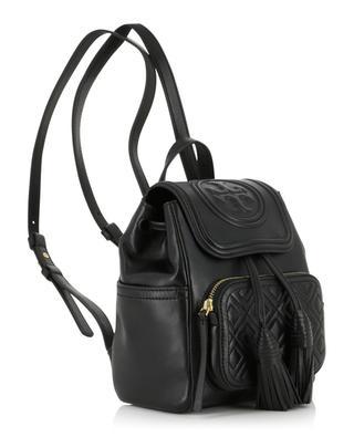 Rucksack aus gestepptem Leder Fleming Mini TORY BURCH