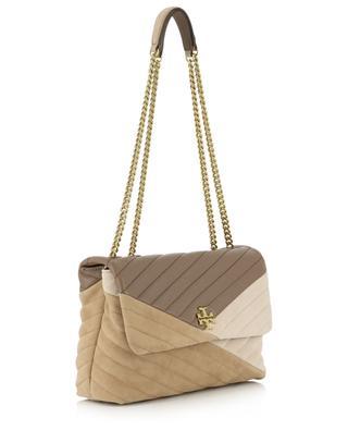 Kira Chevron quilted shoulder bag TORY BURCH