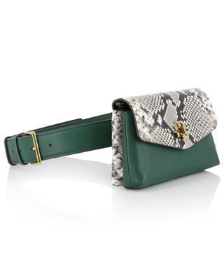 Kira Exotic snakeskin leather belt bag TORY BURCH