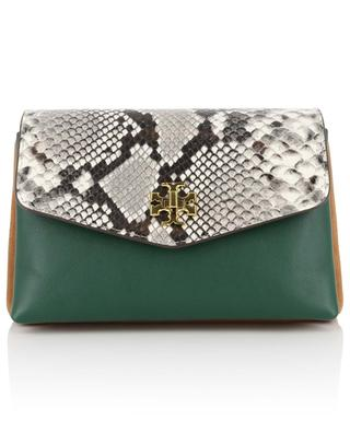 Kira Exotic snakeskin leather crossbody bag TORY BURCH