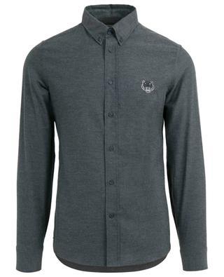 Hemd aus Flanell Tiger Crest Slim Fit KENZO