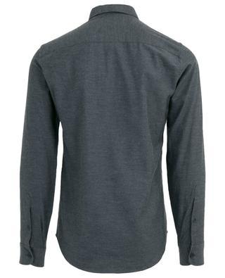 Tiger Crest Slim Fit flannel shirt KENZO