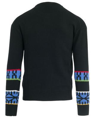 Mountain Artwork embroidered jacquard jumper KENZO