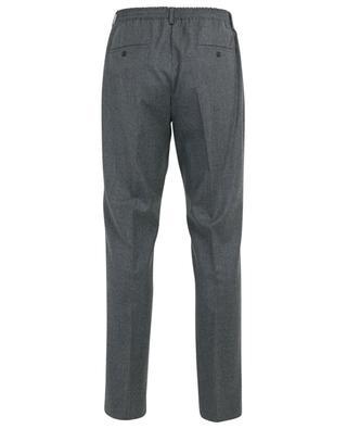 Slim-Fit-Hose aus Wolle mit Logostickerei KENZO