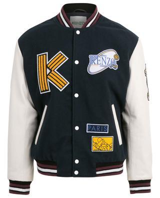 Lined leather jacket KENZO