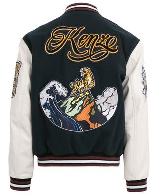 Gefütterte Jacke aus Leder KENZO