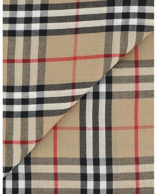 Écharpe légère brodée en cachemire Vintage Check BURBERRY