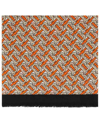 Halstuch aus Kaschmir mit Monogramm-Print BURBERRY