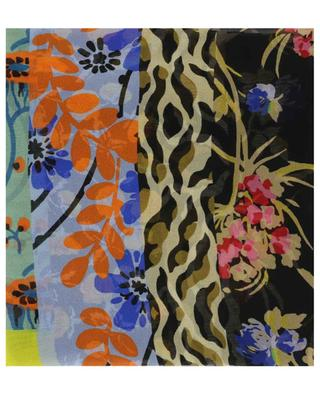 Dehly musslin scarf with patchwork pattern ETRO