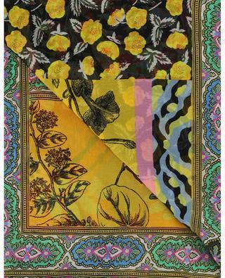 Tuch aus Musselin mit Patchwork-Print Bombay ETRO
