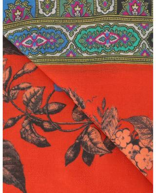 Raji large jacquard scarf with oriental designs ETRO