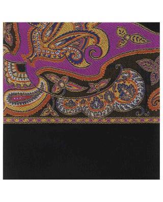 Paisley pattern crinkle jacquard scarf ETRO