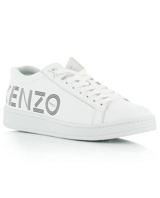 Baskets basses en cuir imprimé logo Tennix KENZO