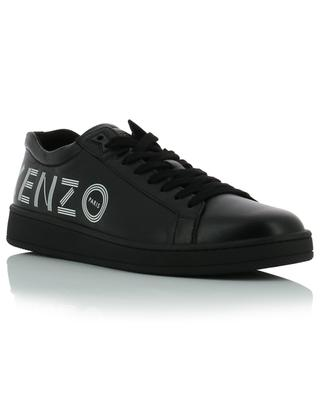 Niedrige Ledersneakers mit Logoprint Tennix KENZO