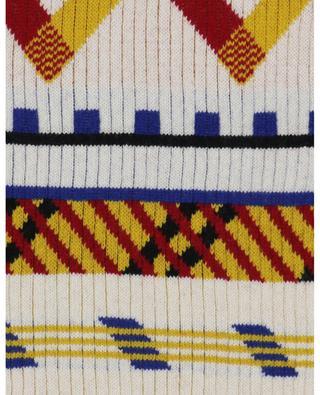 Écharpe côtelée multicolore Peruvian Story KENZO