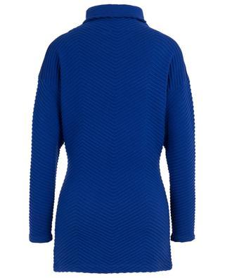 Wool blend turtle neck jumper with chevron pattern VICTORIA BY VICTORIA BECKHAM