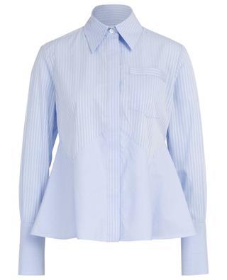 Flounced striped shirt VICTORIA BY VICTORIA BECKHAM