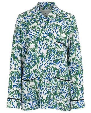 Chemise fleurie fluide esprit pyjama VICTORIA BY VICTORIA BECKHAM