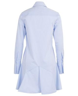 Robe chemise trapèze rayé à basque VICTORIA BY VICTORIA BECKHAM