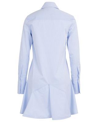 Robe chemise trapèze rayée à basque VICTORIA BY VICTORIA BECKHAM