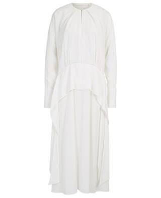 Robe longue drapée en crêpe VICTORIA BY VICTORIA BECKHAM