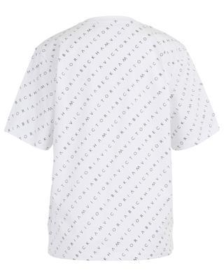 T-Shirt aus Baumwolle mit Logo VICTORIA BY VICTORIA BECKHAM