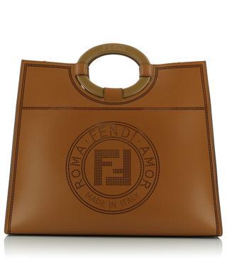 Sac cabas en cuir détail Fendi Stamp Runaway Medium FENDI