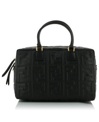 Handtasche aus Leder mit 3D-FF Boston Small FENDI