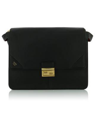 Kan U Large matte leather shoulder bag FENDI
