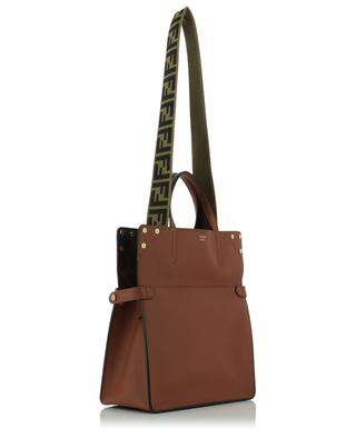 Shopper aus Leder Fendi Flip Regular FENDI