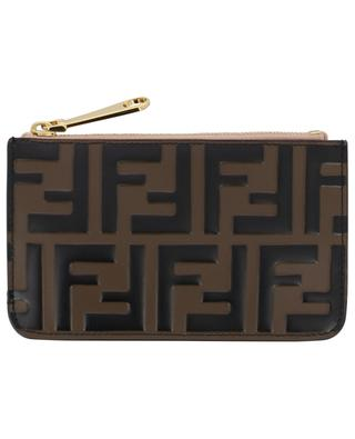 F is Fendi leather key pouch FENDI