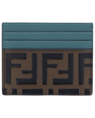 Porte-cartes en cuir de veau FENDI