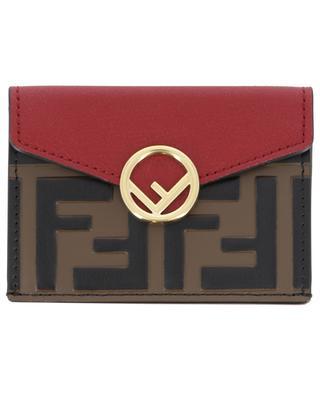 Mini portefeuille en cuir FENDI