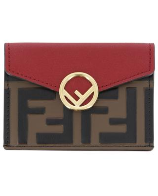 Mini leather wallet FENDI