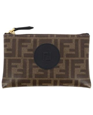 Small FF print fabric pouch FENDI