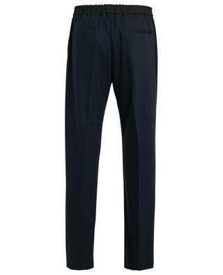 Pantalon en flanelle stretch bicolore Eugene JOSEPH
