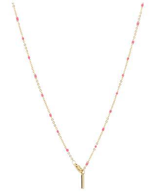 Halskette aus Metall mit Muschel MOON C° PARIS