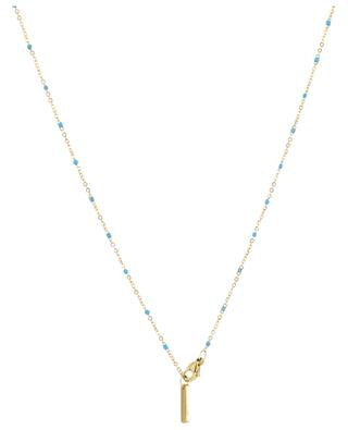 Halskette aus Metall mit Medaillon MOON C° PARIS