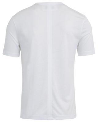Rundhals-T-Shirt aus Lyocell und Baumwolle JOSEPH