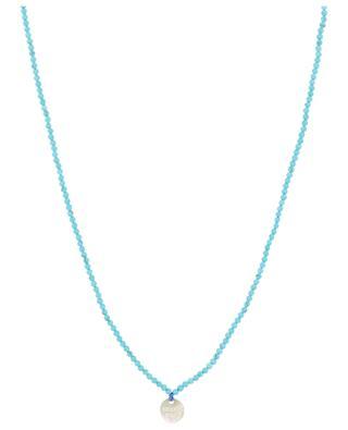 Lange Perlenkette MOON C° PARIS