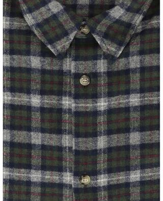 Land checked flannel overshirt A.P.C.