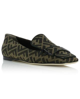 FFreedom FF jacquard loafers FENDI