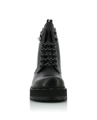 FFreedom biker spirit leather ankle boots FENDI