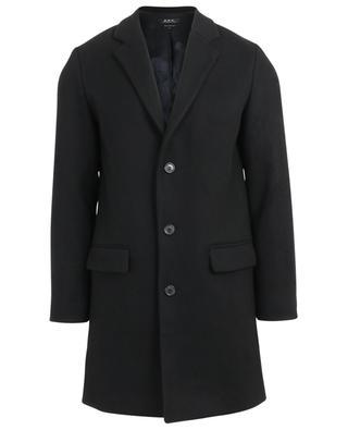 Manteau déperlant en feutre épais Visconti A.P.C.