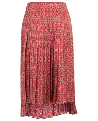 Grille Royale asymmetrical twil skirt FENDI