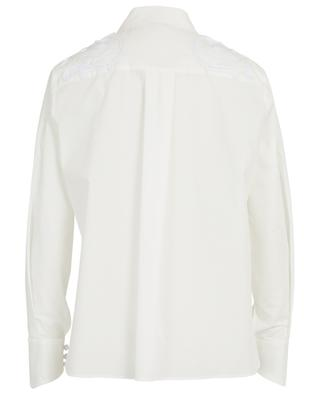 Ornamental embroidered taffeta shirt FENDI