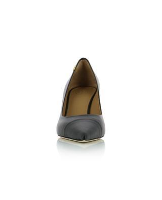 Penelope 65 Cap-Toe pumps in leather TORY BURCH