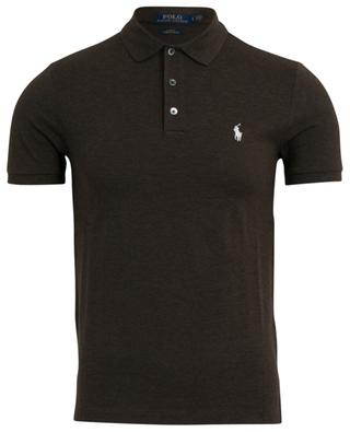 Slim fit stretch cotton piqué polo shirt POLO RALPH LAUREN