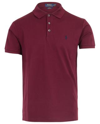 Slim fit stretch cotton piqué polo shirt POLO RALPH LAUREN