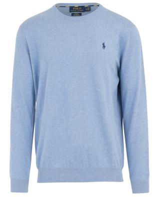 Logo embroidered slim fit pima cotton jumper RALPH LAUREN